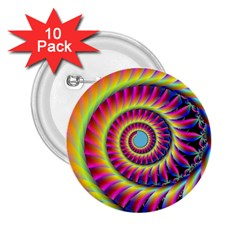 Fractal34 2.25  Button (10 pack) from Custom Dropshipper Front