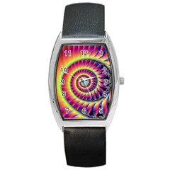 Fractal34 Barrel Style Metal Watch from Custom Dropshipper Front