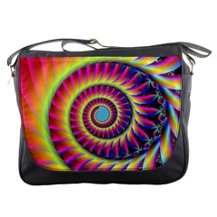 Fractal34 Messenger Bag from Custom Dropshipper Front