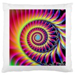 Fractal34 Large Cushion Case (Two Sides) from Custom Dropshipper Front