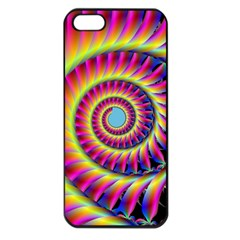 Fractal34 Apple iPhone 5 Seamless Case (Black) from Custom Dropshipper Front