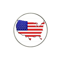 American Map Flag Hat Clip Ball Marker (10 pack) from Custom Dropshipper Front