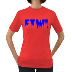 For The Win! Women s Dark T Front