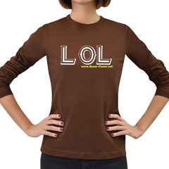 LOL Women s Long Sleeve Dark T Front