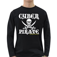 Cyber Pirate  Long Sleeve Dark T Front