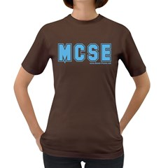 MCSE College Women s Dark T Front