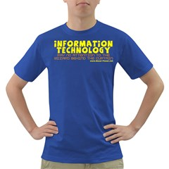 Information Technology Dark T Front