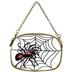 Spider in web Cosmetic Bag (One Side) from Custom Dropshipper Front