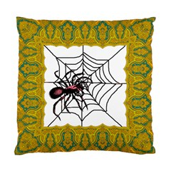 Spider in web Cushion Case (Two Sides) from Custom Dropshipper Front