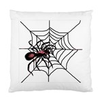 Spider in web Cushion Case (Two Sides) from Custom Dropshipper Back