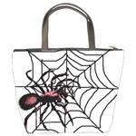 Spider in web Bucket Bag from Custom Dropshipper Back
