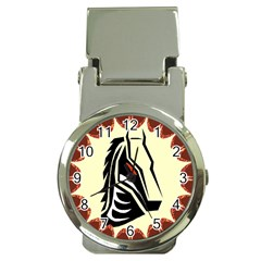 Horse head Money Clip Watch from Custom Dropshipper Front