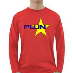 PWN Star Long Sleeve Dark T Front