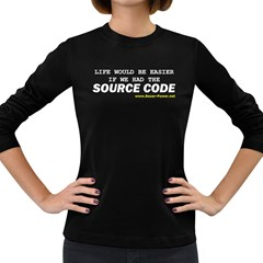 Source code Women s Long Sleeve Dark T Front