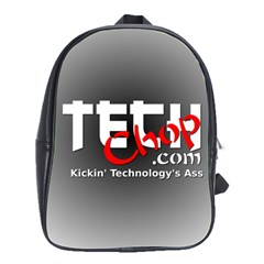 Tech Chop School Bag (Large) from Custom Dropshipper Front