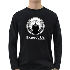 Anonymous Long Sleeve Dark T Front
